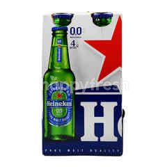 Heineken Pure Malt Beer (4 Bottles)