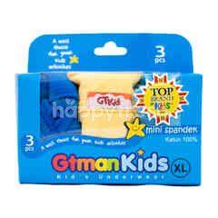 GT man Kids Underwear Size XL