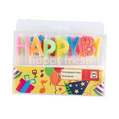 Super Indo 365 Lilin Huruf Happy Birthday Kebutuhan Pesta