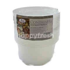 Ace Packaging 16oz Round Clear Containers