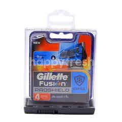 Gillette Fusion Proshield Shave Blade (4 Pieces)