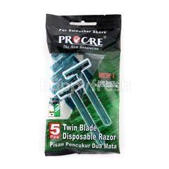 Procare Twin Blade Disposable Razor