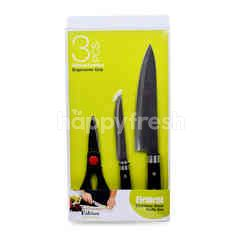 FABIAN KITECHENWARE Element Stainless Steel Knife Set