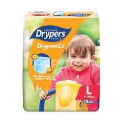 Drypers Drypantz Mega Pack Diapers L48