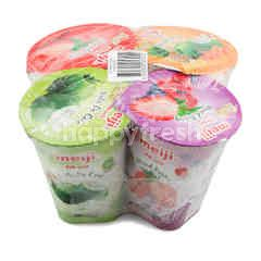 Meiji Assorted Low Fat Yogurt