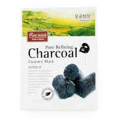 Pure Mind Pore Refining Charcoal Essence Mask