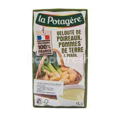 La Potagere Sup Daun Bawang, Kentang dan Peterseli
