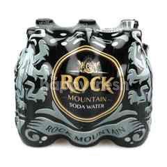 Rock Mountain Soda Water 325 ml X 6 Bottles