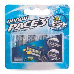 Dorco Pace 3 Razor for Men