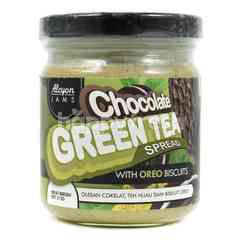 Alcyon Jams Chocolate Green Tea Spreads with Oreo Biscuit