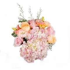 ฮาร์ทอิส เซ็ท D.I.Y. ดอกไม้สด สีพาสเทลคละชนิด พร้อมจัดด้วยตัวเอง