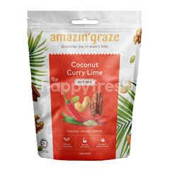 AMAZIN' GRAZE Coconut Curry Lime Nut Mix