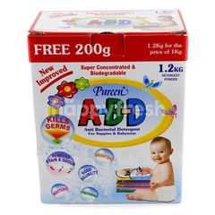 Pureen ABD Anti Bacterial Detergent For Nappies & Babywear