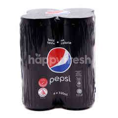 Pepsi Cola Carbonated Drinks (4 Cans)