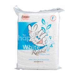 Evergreen White Rabbit Cotton Pads
