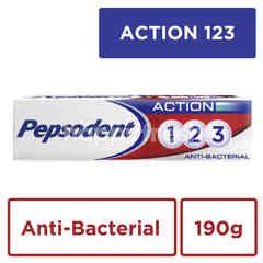 Pepsodent Pasta Gigi Pencegah Gigi Berlubang Anti Bakteri Aksi 123