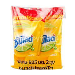 Sunlight Dishwashing Liquid Lemon Turbo Formula
