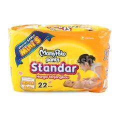 MamyPoko Standard Baby Pants Diaper Mini S