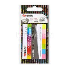 Umoe Neon Colour Page Marker