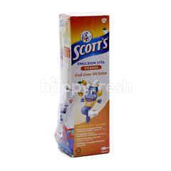 Scott's Orange And Cod Liver Oil Extra Emulsion Vita Drink