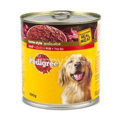 Pedigree Home Style Formula Beef Flavour Dog Food