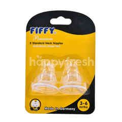 FIFFY Standard Neck Nipples ( 2 Pieces)