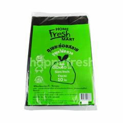 Home Fresh Mart Garbage Bags Non Toxic Plastic 30 X 40 inch