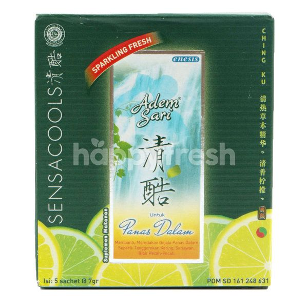 Adem Sari Lime Flavored Cooling Water With Vitamin C