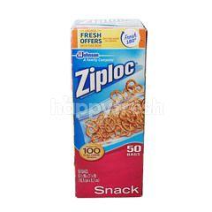 Ziploc Snack Bags 16.5cm x 8.2cm
