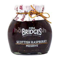 Mrs Bridges Scottish Raspberry Preserve Jam