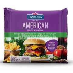 Emborg American Cheddar Slices