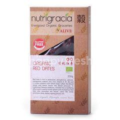 NUTRIGRACIA Organic Red Dates