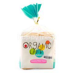 Organic Land Roti Tawar Tinggi Serat untuk Diet