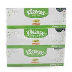 คลีเน็กซ์ กระดาษเช็ดหน้าสีขาว Aloe & E Lotion (3 กล่อง)