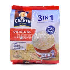Quaker 3 In 1 Original Oat Cereal Drink (15 Sachets)