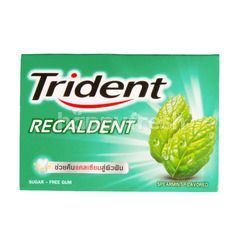 Trident Recaldent Spearmint Gum