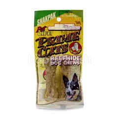 PET LIFE Beefhide Dog Chews (2 Pieces)