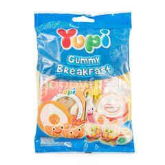 Yupi Gummy Breakfast Kembang Gula Jeli