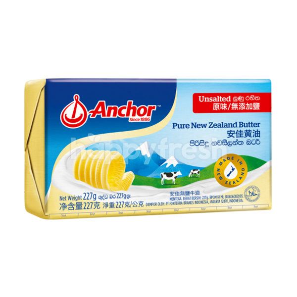 Anchor New Zealand Pure Unsalted Butter