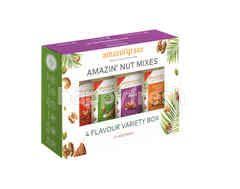 AMAZIN' GRAZE Nuts Variety Box (40g x 4)