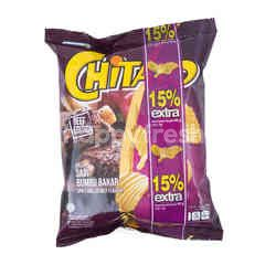 Chitato Spicy Grilled Beef Potato Chips