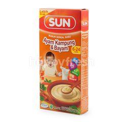 Sun Bubur Sereal Susu Ayam Kampung & Bayam