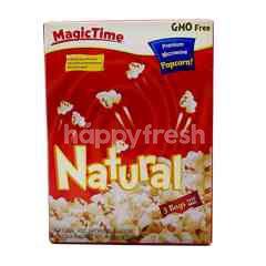 Magic Time Natural Premium Microwave Popcorn (3 Bags)