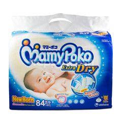 MamyPoko Popok Ekstra Kering untuk Bayi Baru Lahir dengan Berat Badan ~5kg