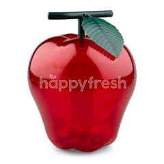 New Year Decoration Apple Shape Storage Box Red