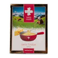 Swiss Mooh Traditional Swiss Fondue (Cheese Fondue)