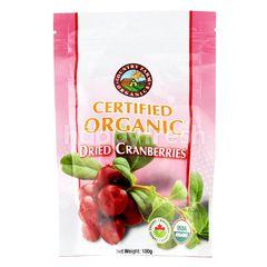 Country Farm Organics Certified Organic Dried Cranberries