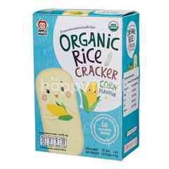 APPLE MONKEY Organic Rice Cracker - Corn (30g)