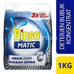 Rinso Matic Powder Laundry Detergent Front Load