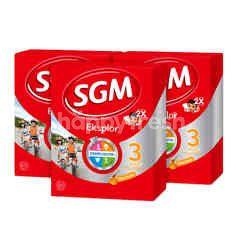SGM Eksplor Presinutri 3 Plus Powdered Honey Milk Triplepack